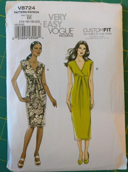 Vogue 8724 Pattern Cover