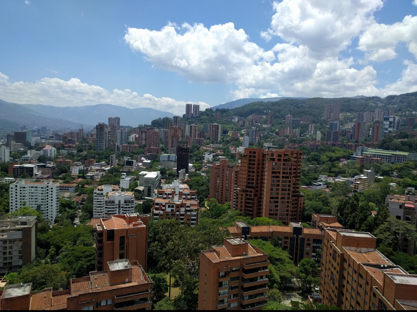 Medellin from my balcony Daytime